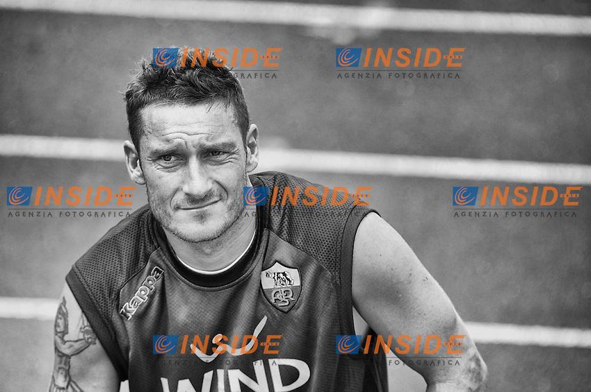 Francesco Totti.Riscone di Brunico (BZ) 07/07/2012 Allenamento As Roma.Football Calcio 2012/2013 .Foto Insidefoto Christian Mantuano