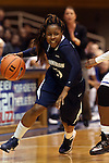 02 January 2014: ODU's Galaisha Goodhope. The Duke University Blue Devils played the Old Dominion University Lady Monarchs in an NCAA Division I women's basketball game at Cameron Indoor Stadium in Durham, North Carolina. Duke won the game 87-63.