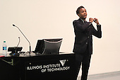 Illinois Institute of Technology Associate Professor Marshal Brown spoke Thursday evening at the Illinois Institute of Technology about how the Obama Library will easily integrate into the South Side of Chicago.