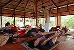 Thai Chi workshop in Auroville. 2012
