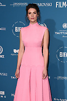 Gemma Arterton<br /> arriving for the British Independent Film Awards 2018 at Old Billingsgate, London<br /> <br /> ©Ash Knotek  D3463  02/12/2018