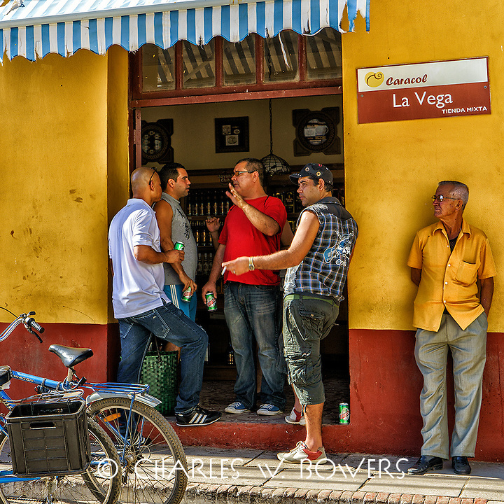 Faces Of Cuba - Hanging out at La Vega<br />