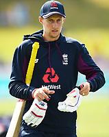 30th November 2019, Hamilton, New Zealand;  Joe Root on day 2 of 2nd test match between New Zealand and England,  International Cricket at Seddon Park, Hamilton, New Zealand.  - Editorial Use