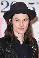 James Bay arrives for the BRIT Awards 2015 at the O2 Arena, London. 25/02/2015 Picture by: Steve Vas / Featureflash