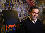"Brian d'Arcy James attends the ""The Ferryman"" cast change photo call on January 17, 2019 at the Sardi's in New York City."