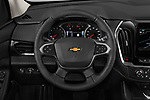 Car pictures of steering wheel view of a 2019 Chevrolet traverse 3LT 5 Door SUV