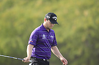 Branden Grace (RSA) walks onto the 12th green during Sunday's Final Round of the Commercial Bank Qatar Masters 2013 at Doha Golf Club, Doha, Qatar 26th January 2013 .Photo Eoin Clarke/www.golffile.ie