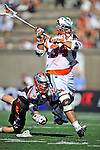 23 August 2008: Los Angeles Riptide Midfielder Anthony Kelly in action against the Denver Outlaws during the Semi-Finals of the Major League Lacrosse Championship Weekend at Harvard Stadium in Boston, MA. The Outlaws edged out the Riptide 13-12, advancing to the upcoming Championship Game...Mandatory Photo Credit: Ed Wolfstein Photo