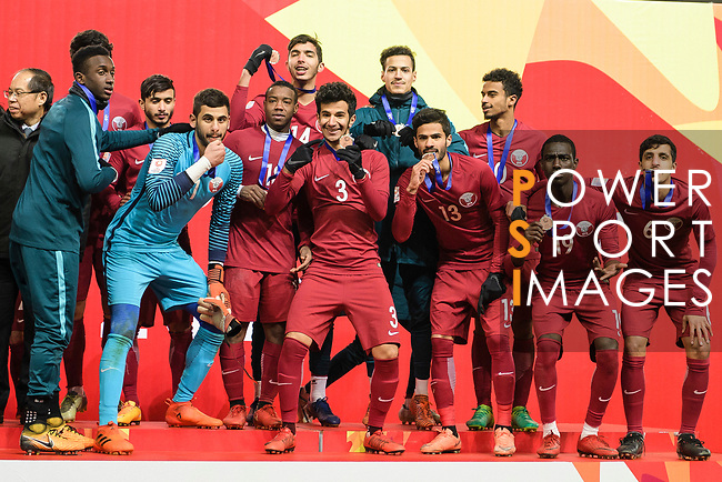 Qatar vs South Korea during the AFC U23 Championship China 2018 3rd/4th Place match at Kunshan Sports Center on 26 January 2018, in Kunshan, China. Photo by Marcio Rodrigo Machado / Power Sport Images