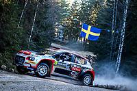 13th February 2020, Torsby base and Karlstad, Värmland County, Sweden; WRC Rally of Sweden, Shakedown event;  Mads Ostberg (NOR) – Torstein Eriksen (NOR) - Citroen C3 WRC2