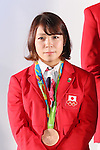 Hiromi Miyake, <br /> SEPTEMBER 21, 2016 : <br /> Olympic and Paralympic flags raising ceremony <br /> in Tokyo, Japan.  <br /> (Photo by Yohei Osada/AFLO SPORT)