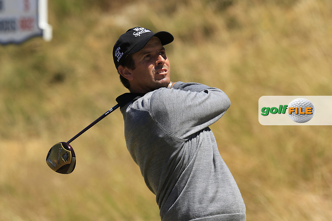 Thomas AIKEN (RSA) tees off the 8th tee during Friday's Round 2 of the 2015 U.S. Open 115th National Championship held at Chambers Bay, Seattle, Washington, USA. 6/19/2015.<br /> Picture: Golffile | Eoin Clarke<br /> <br /> <br /> <br /> <br /> All photo usage must carry mandatory copyright credit (&copy; Golffile | Eoin Clarke)