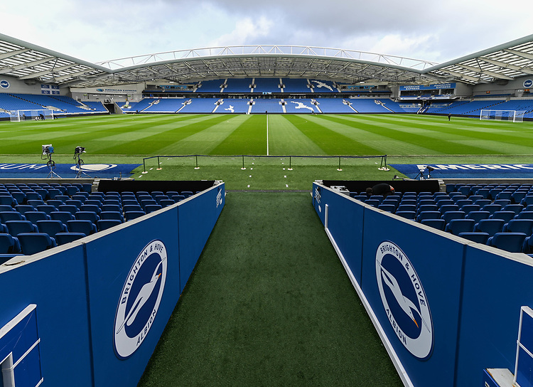 The Amex Stadium - Ground shot<br /> <br /> Photographer David Horton/CameraSport<br /> <br /> The Premier League - Brighton and Hove Albion v Burnley - Saturday 9th February 2019 - The Amex Stadium - Brighton<br /> <br /> World Copyright © 2019 CameraSport. All rights reserved. 43 Linden Ave. Countesthorpe. Leicester. England. LE8 5PG - Tel: +44 (0) 116 277 4147 - admin@camerasport.com - www.camerasport.com
