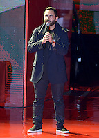 MIAMI, FL - OCTOBER 29: Enrique Santos onstage at the Jennifer Lopez Gets Loud for Hillary Clinton at GOTV Concert in Miami at Bayfront Park Amphitheatre on October 29, 2016 in Miami, Florida. Credit: MPI10 / MediaPunch