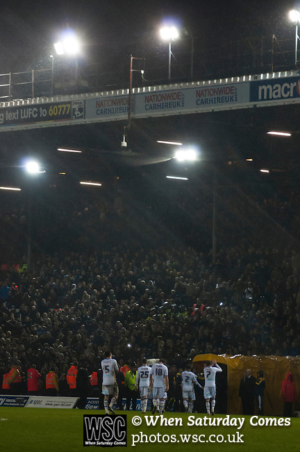 Leeds United 1 Chelsea 5, 19/12/2012. Elland Road, Capital One cup quarter-final. Photo by Paul Thompson.
