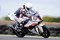 PHILLIP ISLAND, 22 FEBRUARY - James Toseland (GBR) riding the BMW S1000 RR (52) of the BMW Motorrad Italia SBK Team at day two of the testing session prior to round one of the 2011 FIM Superbike World Championship at Phillip Island, Australia. (Photo Sydney Low / syd-low.com)