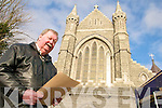 CHURCH: Denis Cournane of the O'Connell Memorial Church restoration committee in Caherciveen, which raised EUR97,000 from a Diocese-wide collection.