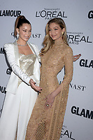 NEW YORK, NY - NOVEMBER 13: Gigi Hadid attends the 2017 Glamour Women of The Year Awards at Kings Theatre on November 13, 2017 in New York City. <br /> <br /> <br /> People:  Gigi Hadid<br /> <br /> Transmission Ref:  MNC1<br /> <br /> Hoo-Me.com / MediaPunch