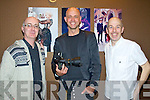 Pat Tobin, Pawel Nowak and Barry Murphy some of the Kerry photographers whos work is featured in the Fashion photography exhibition in association with Kerry Fashion Awards which was opened at  the Roast House restaurant, Tralee on Monday night