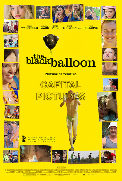 POSTER ART.in The Black Balloon.*Filmstill - Editorial Use Only*.CAP/FB.Supplied by Capital Pictures.