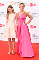 Amanda holden and daughter, Lexi arriving for the BAFTA TV Awards 2018 at the Royal Festival Hall, London, UK. <br /> 13 May  2018<br /> Picture: Steve Vas/Featureflash/SilverHub 0208 004 5359 sales@silverhubmedia.com