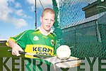 STAR APPEAL: Abbeydorney hurler Michael O'Keeffe who was part of the Tipperary Mini 7s team that played in Croke Park on Sunday last during the All Ireland Senior Hurling championship semi final between Waterford and Tipperary.   Copyright Kerry's Eye 2008