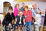 +++ Reproduction Free+++<br /> Members of the Abbeyfeale Drama Group rehearsing ahead of opening night of the Sam Cree play, &quot;Seperate Beds&quot; which opens on Saturday 22nd at 8pm in Fr Caseys GAA, Abbeyfeale, pictured l-r: Mary Boyle, Elaine Hennessy O'Keeffe, Richie Roche, Mikey O'Connor, Joan O'Connell and Pat Scannell.