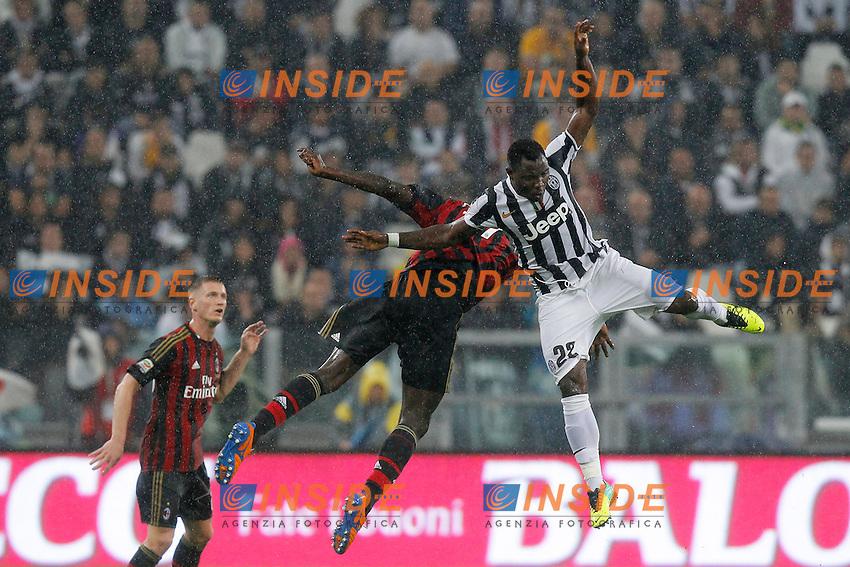 Kwadwo Asamoah Juventus, <br /> Torino 06-10-2013<br /> Juventus Stadium <br /> Football Calcio 2013/2014 Serie A <br /> Juventus - Milan<br /> Foto Marco Bertorello Insidefoto