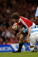 2005 British & Irish Lions vs Argentina, at The Millennium Stadium, Cardiff, WALES played on  23.05.2005, Shane Horgan.Photo  Peter Spurrier. .email images@intersport-images...