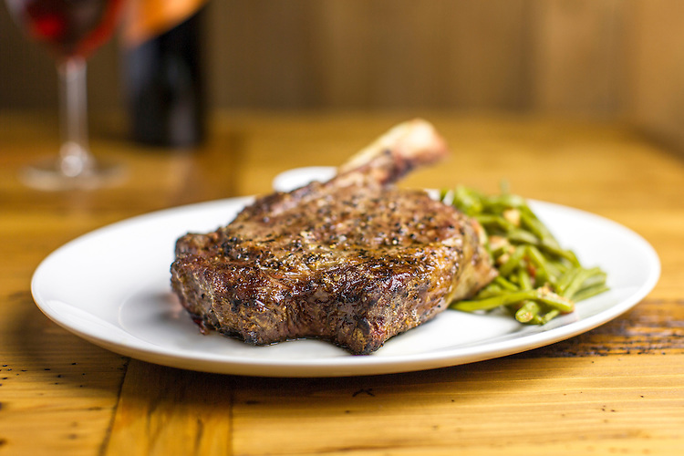 Jerry Nelson's Hill Country & Wood Fired Grill menu items shot for Grand Opening and commercial use.  Shot on location by JDrago Photography