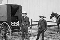 Amish Boys in Missouri Selling Strawberries
