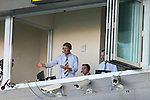 04 August 2014: Broadcasters (from left) Alexi Lalas, Taylor Twellman, and Ian Darke. The Chipotle MLS Homegrown Game was played as part of the Major League All-Star Game week events. The MLS Homegrown players played the Portland Timbers U-23 team at Providence Park in Portland, Oregon.