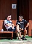 20.06.18 Alex Miller and Mark Allen watching training