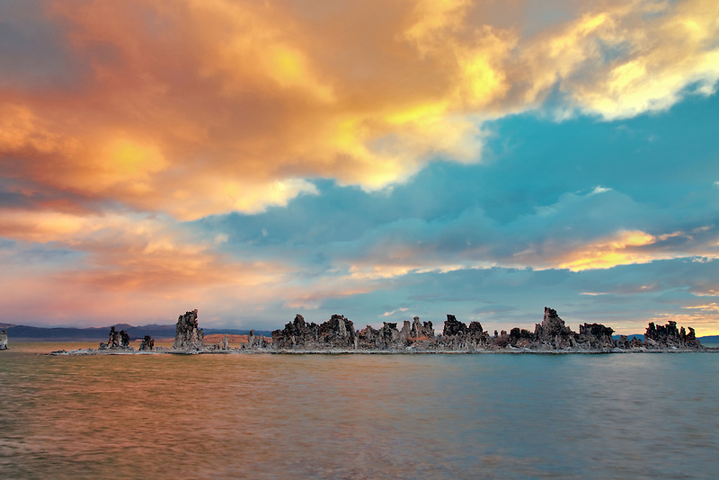 Sunrise on mono Lake. California