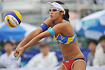 Sayaka Mizoe (JPN),.MAY 4, 2012 - Beach Volleyball : JBV Tour 2012 Sports Club NAS Open at Odaiba Beach, Tokyo, Japan. (Photo by Jun Tsukida/AFLO SPORT) [0003].