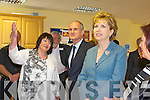 President Mary McAlesse and her Husband Martin in Killorglin on Friday.