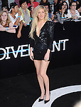 Ellie Goulding attends The L.A. Premiere of DIVERGENT held at The Regency Bruin Theatre in West Hollywood, California on March 18,2014                                                                               © 2014 Hollywood Press Agency