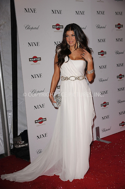 WWW.ACEPIXS.COM . . . . . ....December 15 2009,  New York City....Singer Fergie arriving at the New York premiere of 'Nine' at the Ziegfeld Theatre on December 15 2009 in New York City....Please byline: KRISTIN CALLAHAN - ACEPIXS.COM.. . . . . . ..Ace Pictures, Inc:  ..(212) 243-8787 or (646) 679 0430..e-mail: picturedesk@acepixs.com..web: http://www.acepixs.com