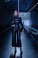 NOVA YORK, EUA, 08.09.2018 - MODA-EUA - Jornalista brasileira Patricia Poeta &eacute; vista durante o<br /> New York Fashion Week na cidade de Nova York nos Estados Unidos neste s&aacute;bado, 8. (Foto: Vanessa Carvalho/Brazil Photo Press)