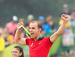Nino Schurter (SUI),<br /> AUGUST 21, 2016 - Cycling :<br /> Men's Cross Country Medal Ceremony <br /> at Mountain Bike Centre <br /> during the Rio 2016 Olympic Games in Rio de Janeiro, Brazil. <br /> (Photo by Enrico Calderoni/AFLO SPORT)