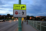 stop for walking black panthers.<br /> georgetown, washington, d.c.