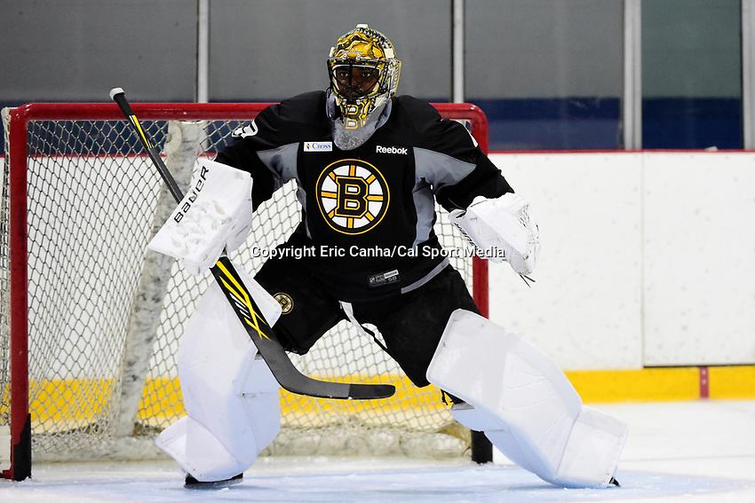skates at the 2016 Boston Bruins development camp, held at Ristuccia Arena, in Wilmington, Massachusetts. Eric Canha/CSM