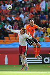 3 John HEITINGA during the 2010 World Cup Soccer match between Denmark and Nederland played at Soccer City Stadium in Johannesburg South Africa on 14 June 2010.