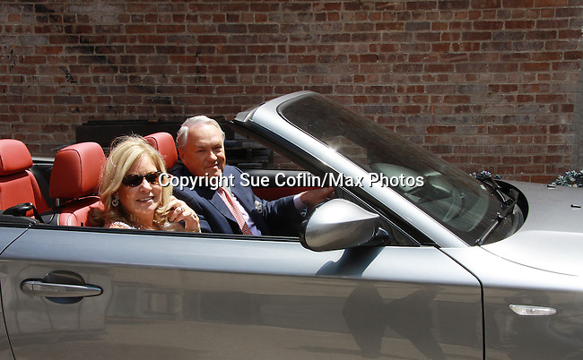 Empire The Series films on set June 3, 2012  in Brooklyn, New York. (Photo by Sue Coflin/Max Photos)