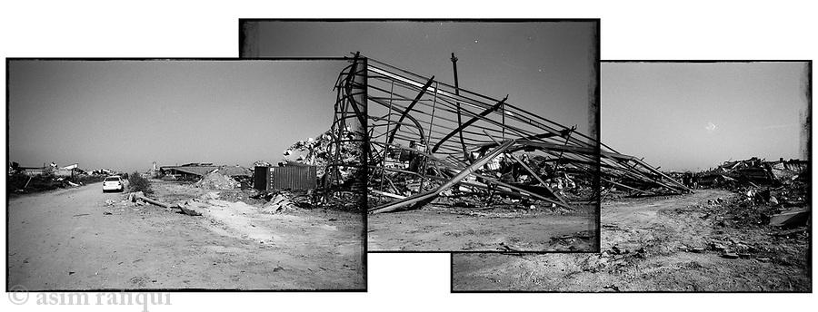Location: Jabal Kashif Industrial Area, Gaza
