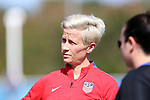 Cary, NC - Saturday October 21, 2017: Megan Rapinoe during a United States (USA) Women's National Team training session at Sahlen's Stadium at WakeMed Soccer Park.