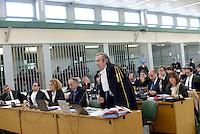 Roma, 19 Novembre 2015<br /> Luca Testaroli Pubblico Ministero<br /> Aula bunker di Rebibbia<br /> Terza udienza del processo Mafia Capitale, Roma Capitale, avvocati,