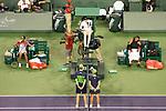 Venus Williams (USA) defeats Serena Williams (USA)