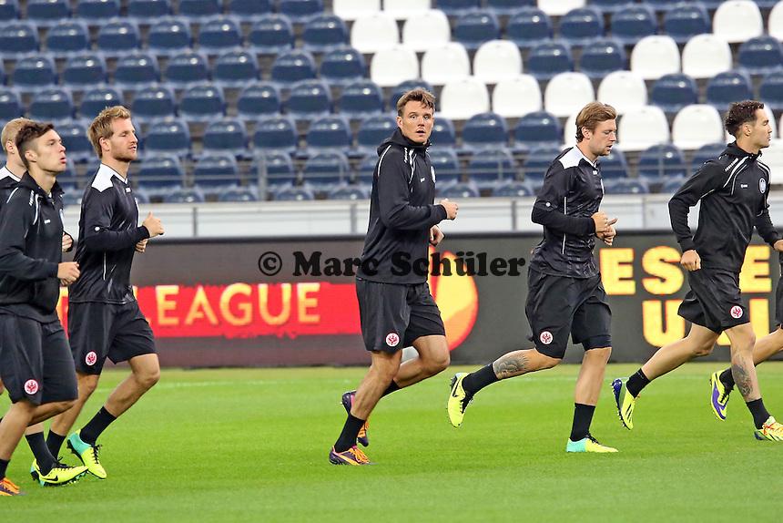 Alex Meier (Eintracht) - Eintracht Europa League Training