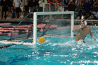 Saturday,November 22 2008.  The ball sails past the Coroando High goalie during the CIF Championship title game.  Bishops High School of La Jolla defeated Coronado High 4 to 3 for the CIF Division II Boys Water Polo Title.